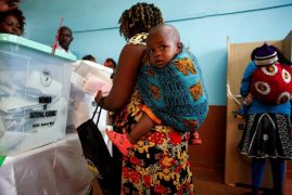 Woman gives birth to 'baby Chepkura' as she waits to vote