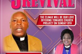 3 Days of Revival:Calvary Evangelical Church (CEC) April 6th-8th 2018 Hos:Rev Charles Kihiko  Guest Preacher:Bishop Zippora Mombasa,Kenya