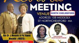 Ezra Christian Radio Presents: Revival Ministry Meetings & Dinner  Fri April 27,Sat 28,& Sun 29 2018