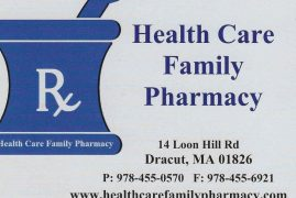 There's a New Pharmacy in Town; Health Care Family Pharmacy  Dracut,Massachusetts