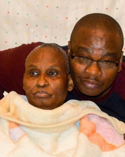 Steve Evans Kamau Mum's Medical Fund's Drive