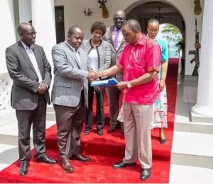 Matiangi declares Raila's move to safeguard his votes illegal 16 days to the poll