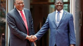 Uhuru, Raila To Receive International Award For Handshake Deal