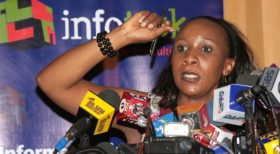 """I Do Not Cook Polls and I'm Not Related to Raila.."" Angela Ambitho"