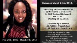In Loving Memory: Please join us for a Memorial Service for Joan Njeri Gitau(JOJO) Sat March 24th 2018 @12:30pm