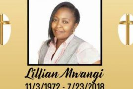 Death Announcement for Lillian Mwangi