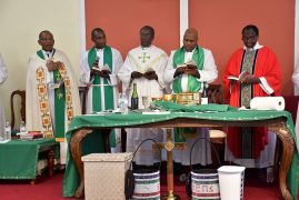 "Kenyan Bishop ""goat story""causes laughter in Church (Video/Photos)"