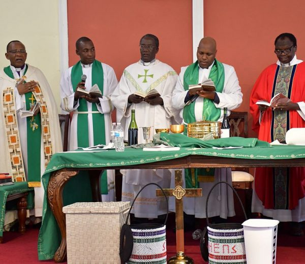 "Kenyan Bishop ""goat story""causes laughter in Church (Video/Photos)"