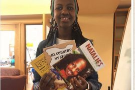 Natalie Wambui Kenyan youngest writer tours BASEC in Belmont,Massachusetts