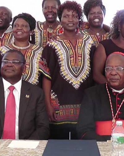 Avoid influence that contradicts your beliefs, Cardinal Njue advises Kenyans living in US