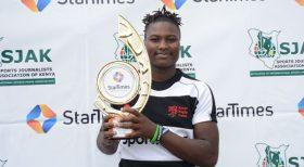 Kenya Lioness star Okello walks away with September award