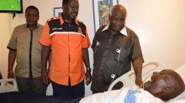 Former minister Joseph Otiende passes on
