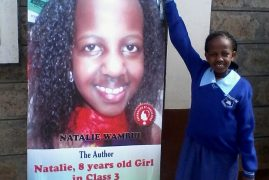 A KENYAN GIRL AGED 10 SHAKES THE WORLD