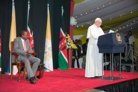 Pope Francis speech at State House Kenya