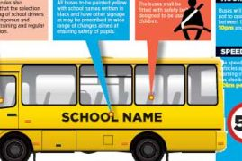 Why all school buses will be yellow