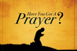PRAYER FOR THE MONTH OF AUGUST