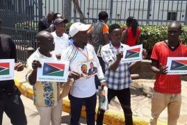"NASA Supporters Unveil ""Peoples Republic of Kenya"" Flag"