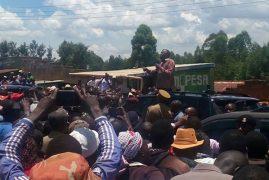 Uhuru Kenyatta blames Raila Odinga for 2007/08 poll chaos