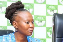 IEBC Commissioner Akombe says WhatsApp messages fake