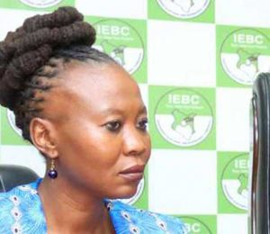 IEBC Commissioner Akombe says WhatsApp messages fake