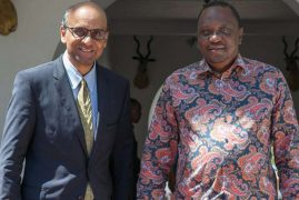 Uhuru meets Singapore deputy PM on trade ties