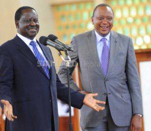Dialogue to end stalemate, EU MPs tell Uhuru and Raila