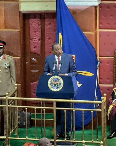 SPEECH BY HIS EXCELLENCY HON. UHURU KENYATTA, C.G.H.,PRESIDENT AND COMMANDER IN CHIEF OF THE DEFENCE FORCESOF THE REPUBLIC OF KENYA DURING THE STATE OF THE NATIONADDRESS AT PARLIAMENT BUILDINGS, NAIROBI ON THURSDAY,26TH MARCH, 2015