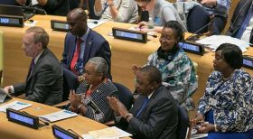Uhuru named global youth champion at UN meeting
