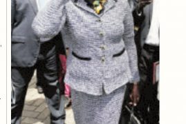 "Mary Wambui Given ""Cold Shoulder"" at Lucy Kibaki's Burial"